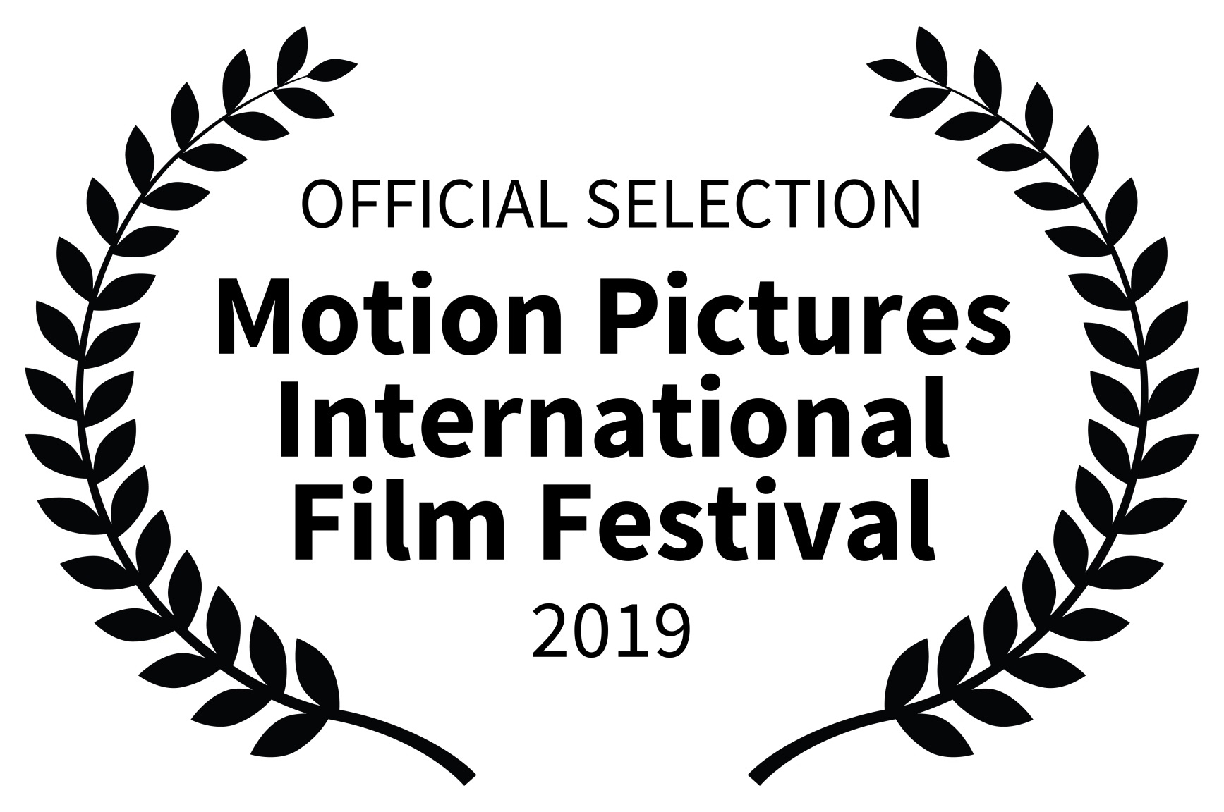 OFFICIAL SELECTION - Motion Pictures International Film Festival - 2019-1